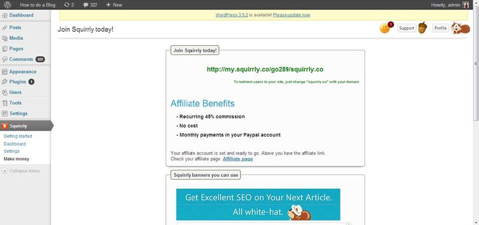 general affiliate program squirrly