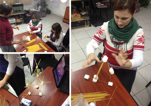 team building marshmallow challenge