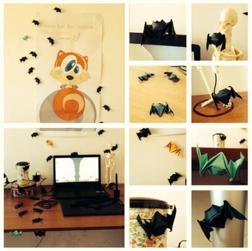 cristina's desk