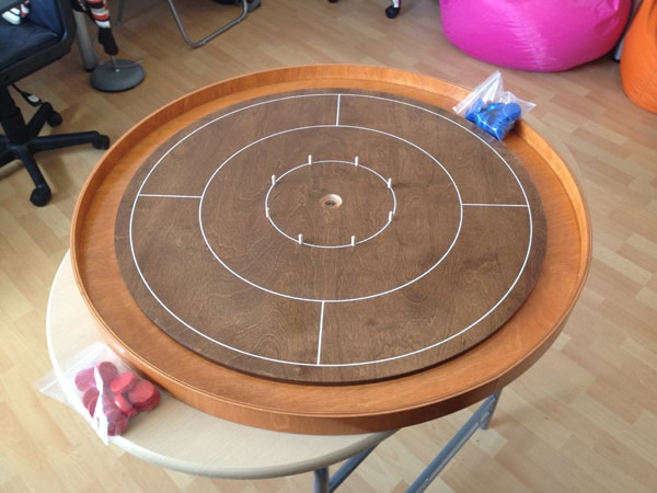 crokinole game
