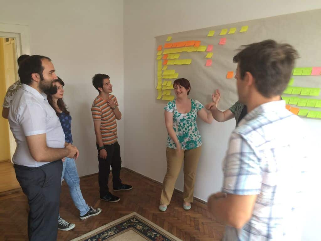 scrum board for content marketing
