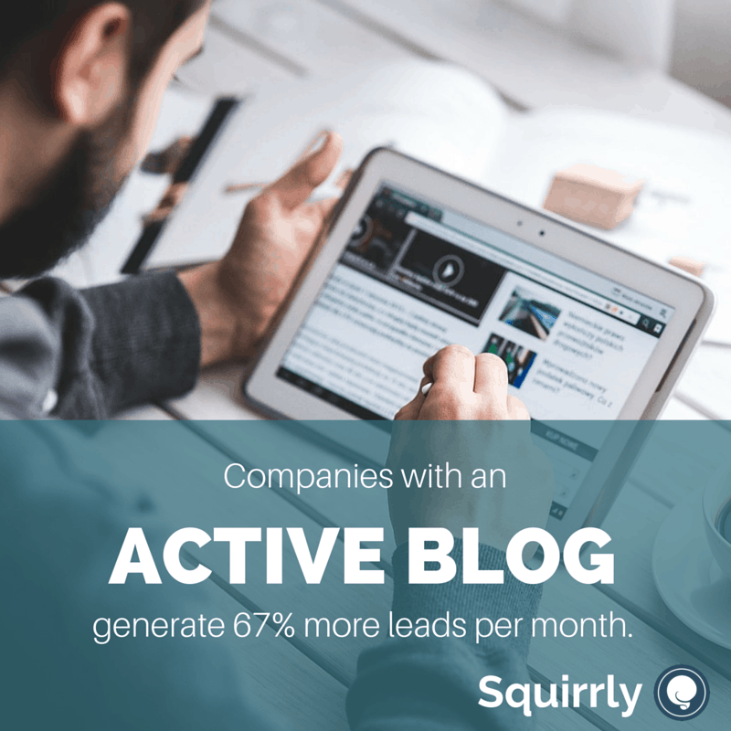 Squirrly Agency will turn your blog into a lead generating machine