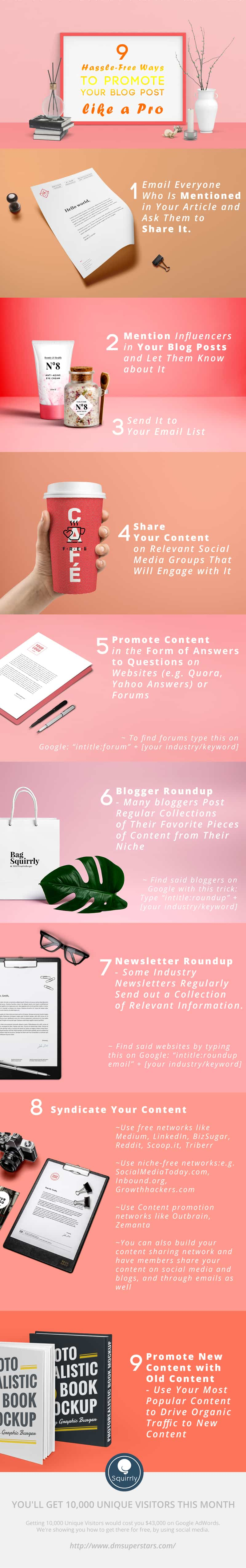 Free Ways to Promote Your Blog