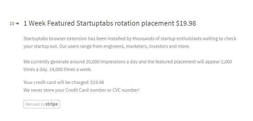 startup tools list