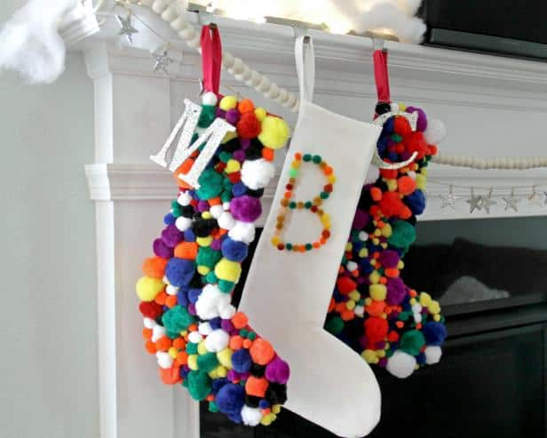 Diy Christmas stocking