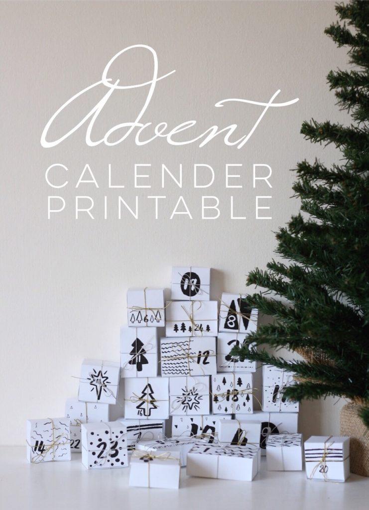 diy christmas advent calendar
