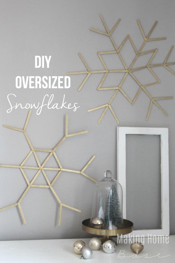 Diy snowflakes