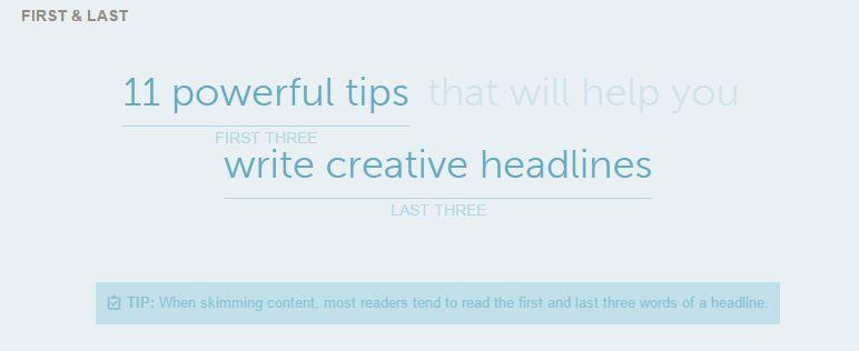 creative headlines