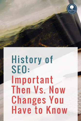 History of SEO Important Then Vs. Now Changes You Have to Know