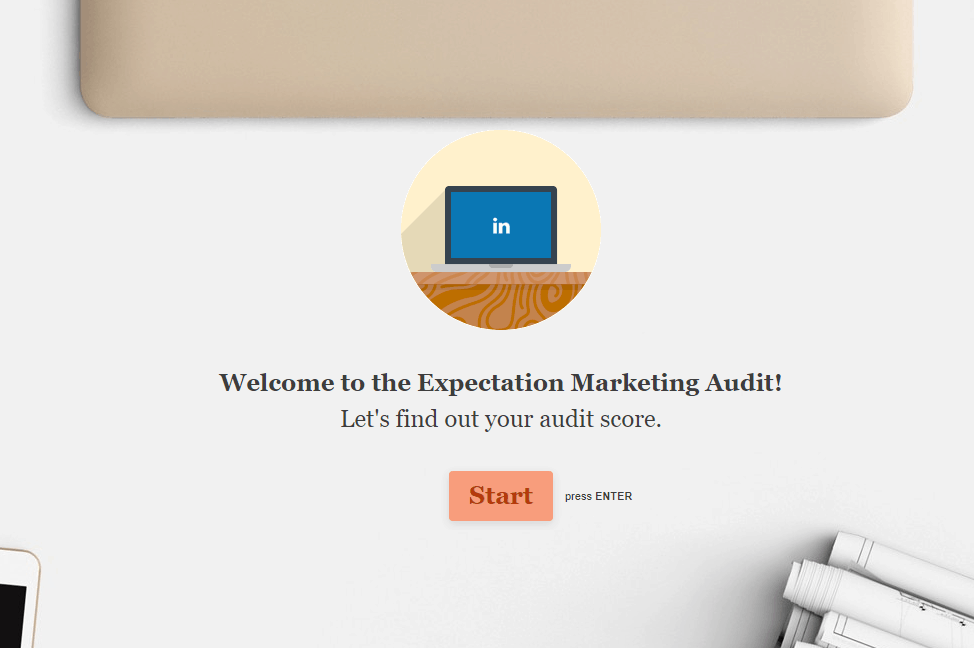 expectation marketing audit