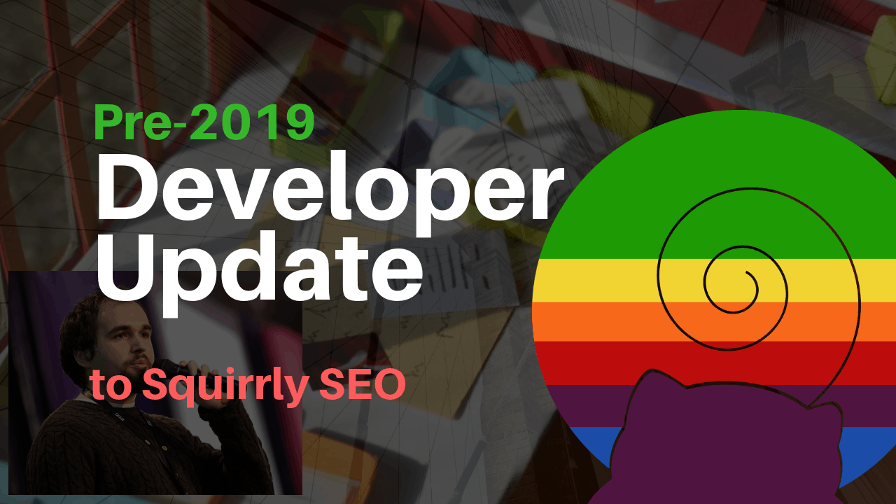 early 2019 developer updates for wordpress seo