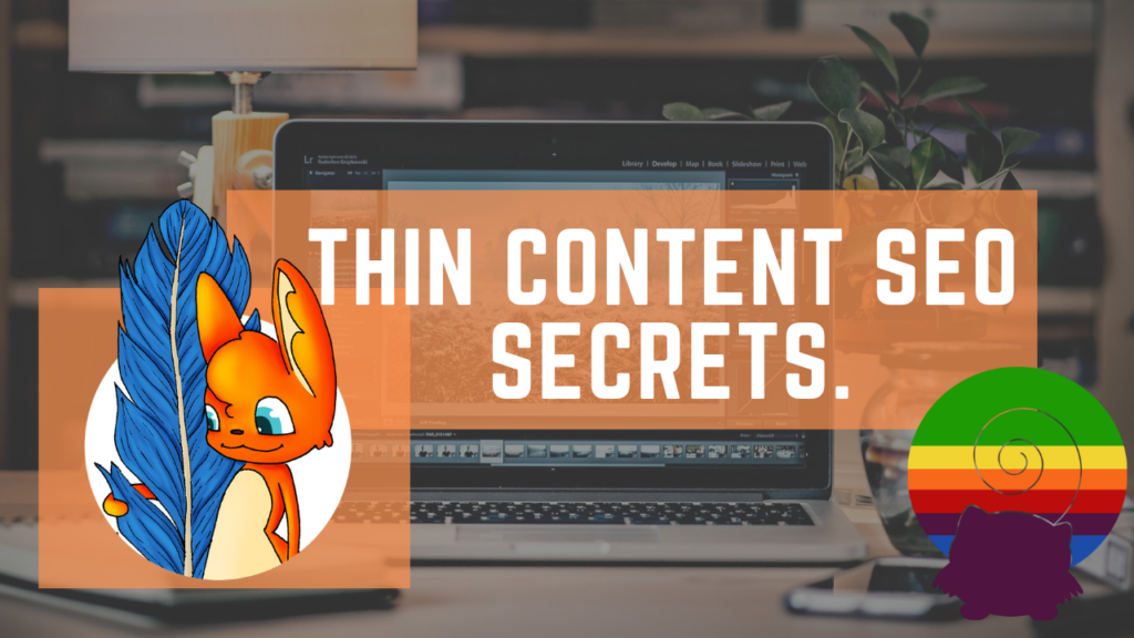 all about a seo strategy for thin content