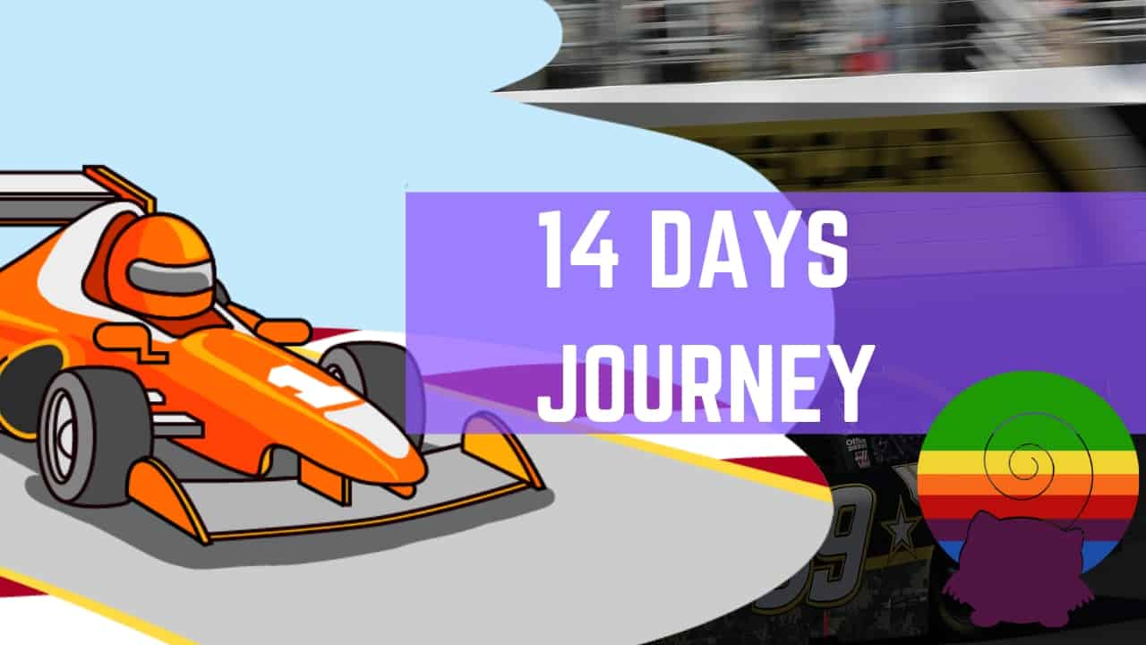 14 days journey