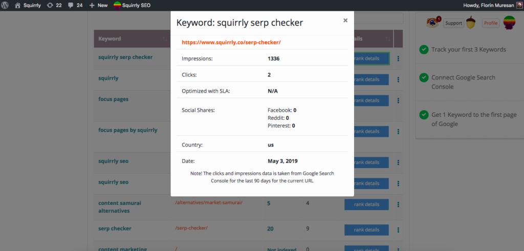 serp checker advanced metrics 2019