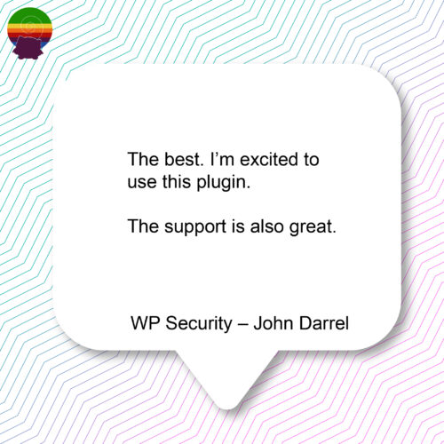 WP Security – John Darrel-12