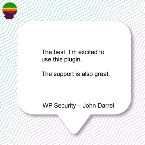 WP Security – John Darrel-12