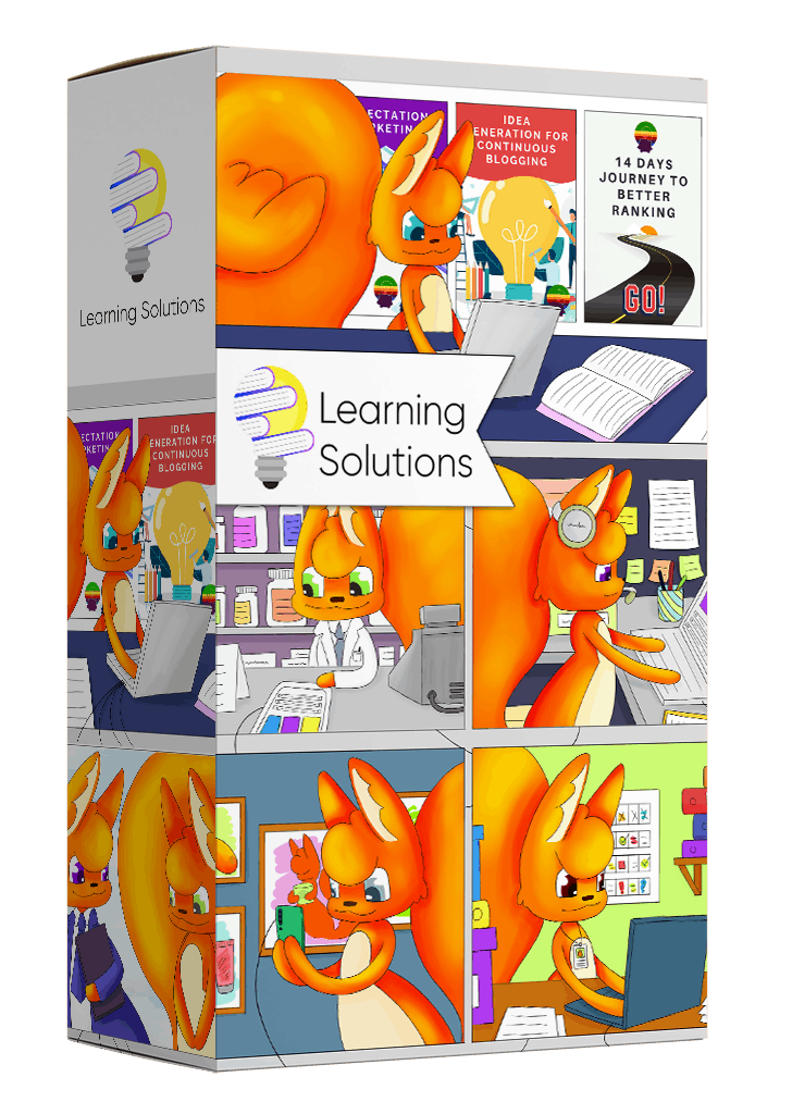 learning solutions by squirrly
