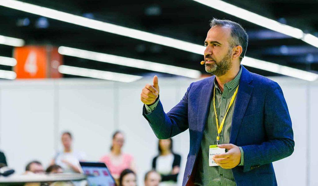 Ibrahim Evsan als Keynote Speaker Digitalisierung